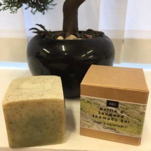 Bain & Savon Nettle & Seaweed Shampoo Bar
