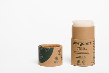 Georganics Natural English Peppermint Toothsoap