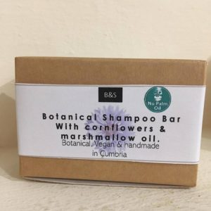 Bain & Savon Botanical Shampoo Bar with Cornflowers and Marshamallow Oil