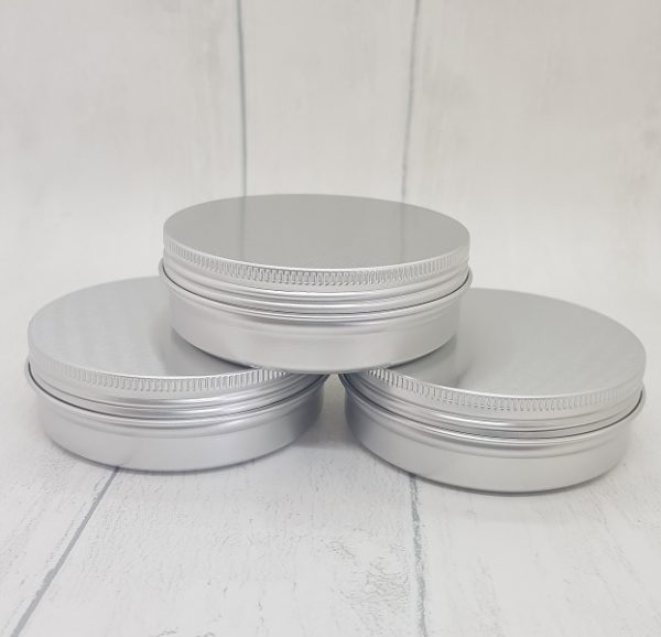 Large Travel Size Refillable Aluminium Pots