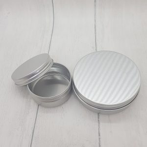 Small and Large Travel Size Refillable Aluminium Pots