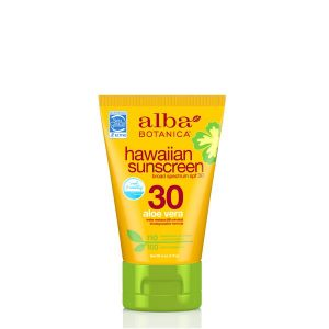 Alba Botanica Hawaiian Aloe Vera Sunscreen SPF30