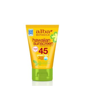Alba Botanica Hawaiian Green Tea Sunscreen SPF45