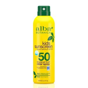 Alba Botanica Kids Sunscreen Spray SPF50