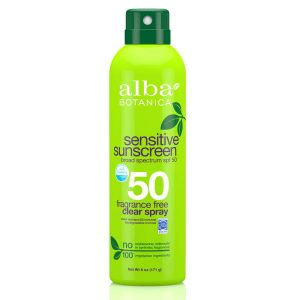 Alba Botanica Sensitive Sunscreen Spray SPF50