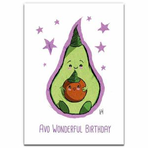 1 Tree Cards Avo Birthday
