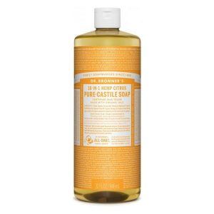 Dr Bronner Citrus Pure Castile Liquid Soap