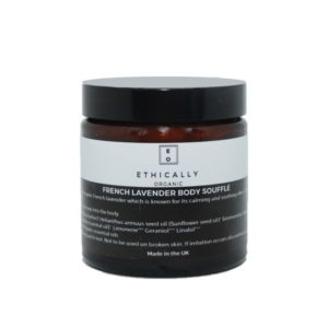 Ethically Organic French Lavender Body Soufflé