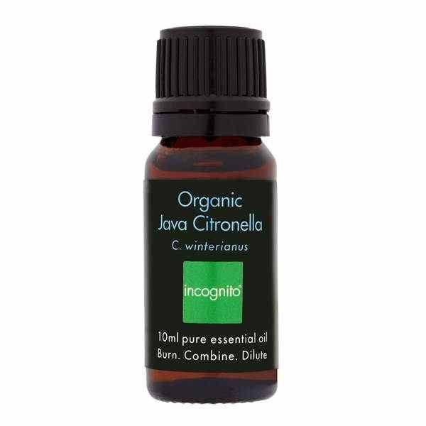 Incognito Organic Java Citronella Oil