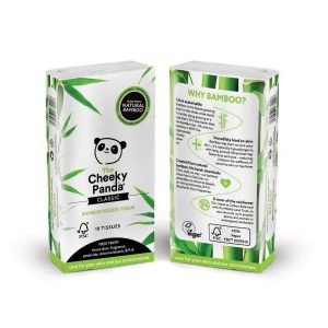 Cheeky Panda bamboo pocket tissue