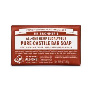Dr Bronner Eucalyptus Pure Castile Bar Soap