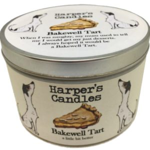 Harpers Candles Bakewell Tart Large