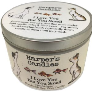 Harpers Candles I Love You But You Smell Large
