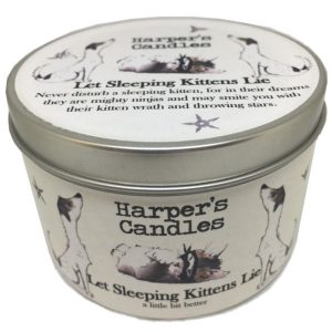 Harpers Candles Let Sleeping Kittens Lie Large