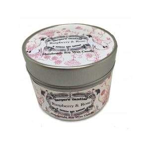 Harpers Candles Raspberry & Rose Small