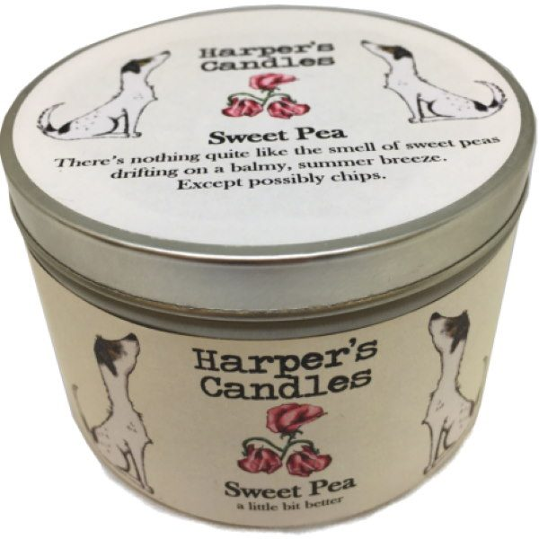 Harpers Candles Sweet Pea Large