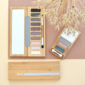 ZAO Eyeshadow Palette 'clin d'oeil' No 1 and duo