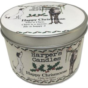 Harpers Candles Happy Chrismoose