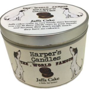 Harpers Candles Jaffa Cake