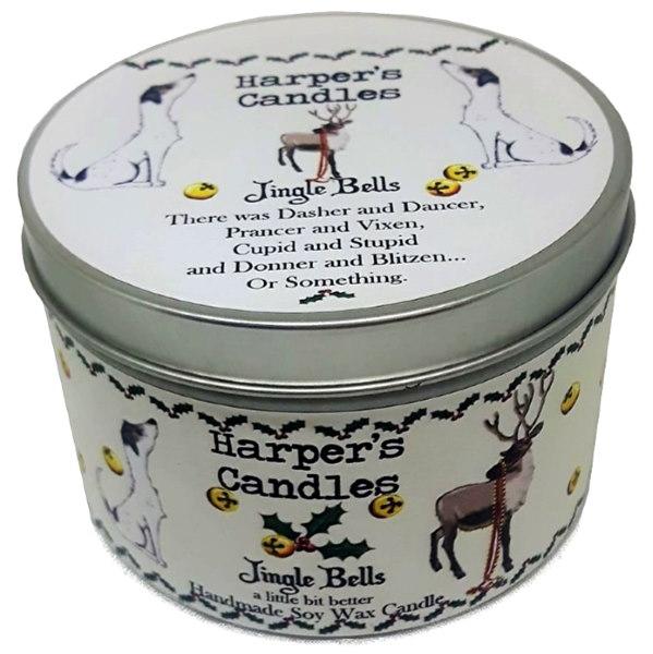 Harpers Candles Jingle Bells