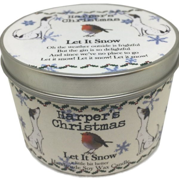 Harpers Candles Let It Snow