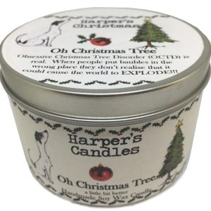 Harpers Candles Oh Christmas Tree Large