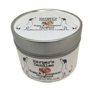 Harpers Candles Sugar & Cinnamon Doughnut