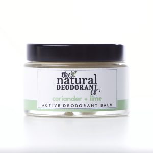The Natural Deodorant Co Active Coriander & Lime 55g