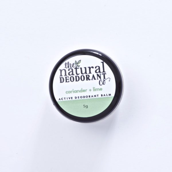 The Natural Deodorant Co Active Coriander & Lime 5g