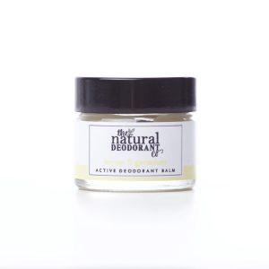 The Natural Deodorant Co Active Lemon & Geranium 20g