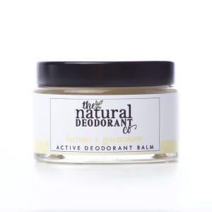 The Natural Deodorant Co Active Lemon & Geranium 55g