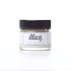 The Natural Deodorant Co Active Mint & Eucalyptus 20g