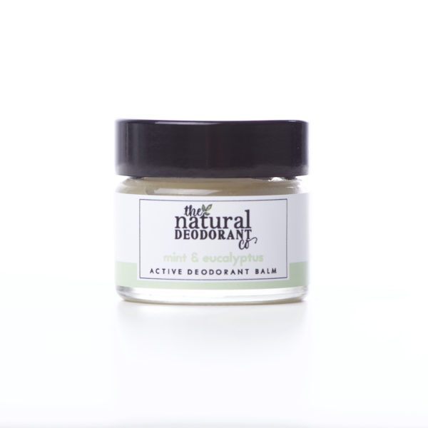 The Natural Deodorant Co Active Mint & Eucalyptus 20g