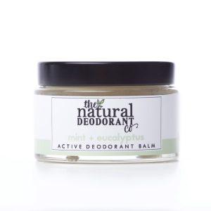 The Natural Deodorant Co Active Mint & Eucalyptus 55g