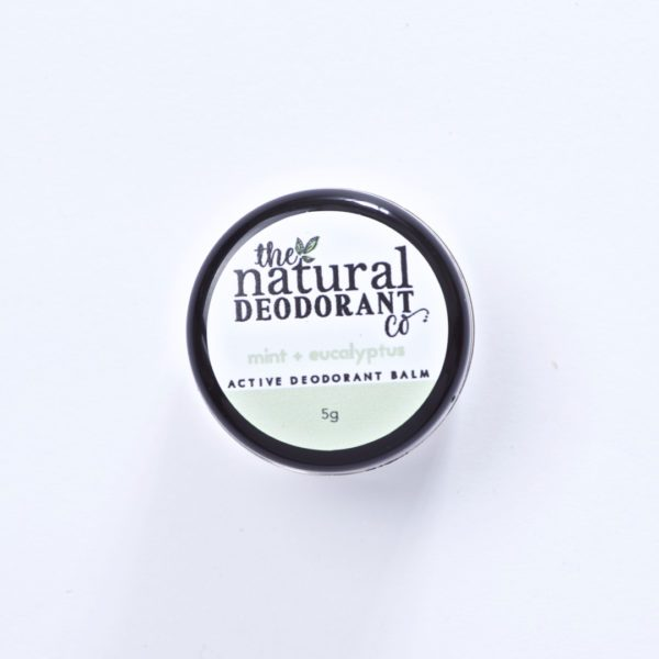The Natural Deodorant Co Active Mint & Eucalyptus 5g