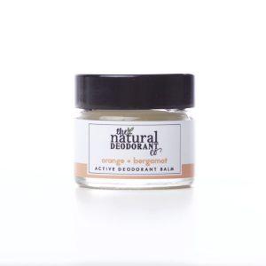 The Natural Deodorant Co Active Orange & Bergamot 20g
