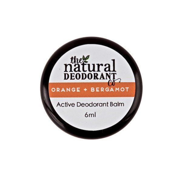 The Natural Deodorant Co Active Orange & Bergamot 5g