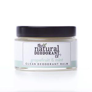 The Natural Deodorant Co Clean Grapefruit & Mint 55g