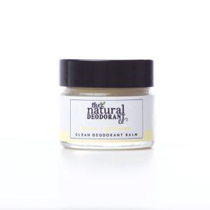 The Natural Deodorant Co Clean Lemon & Geranium 20g