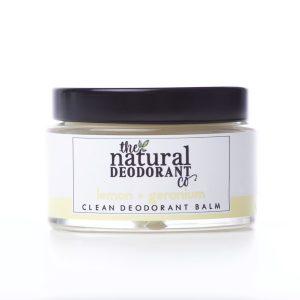 The Natural Deodorant Co Clean Lemon & Geranium 55g