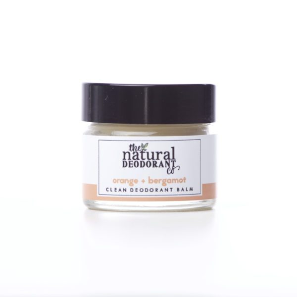 The Natural Deodorant Co Clean Orange & Bergamot 20g