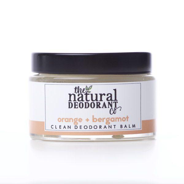 The Natural Deodorant Co Clean Orange & Bergamot 55g