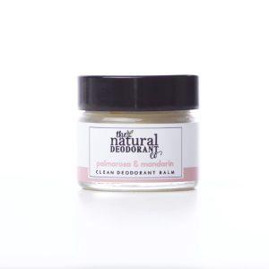 The Natural Deodorant Co Clean Palmarosa & Mandarin 20g