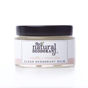 The Natural Deodorant Co Clean Vanilla & Manuka 55g