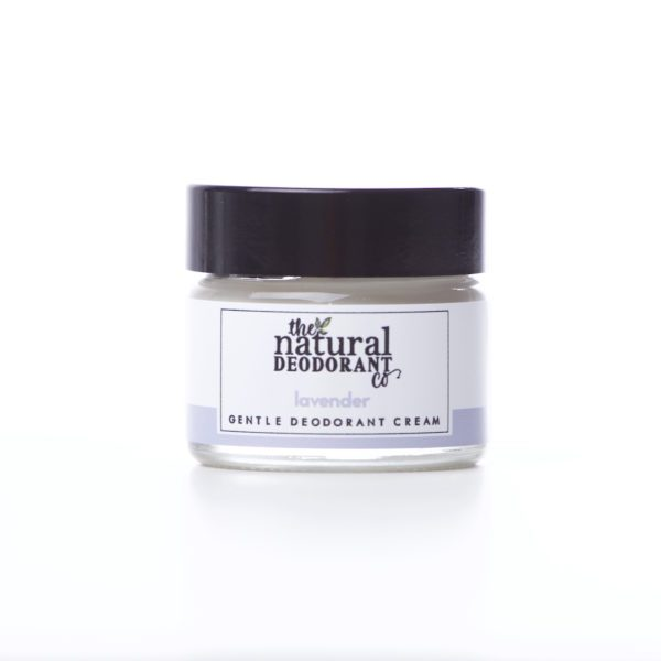 The Natural Deodorant Co Gentle Lavender 20g