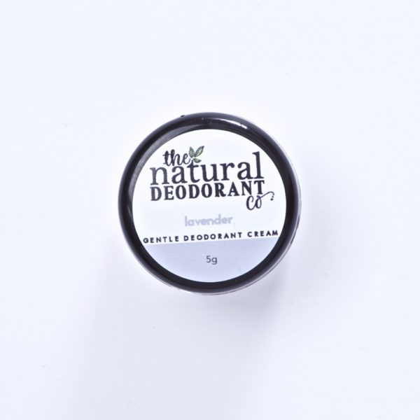 The Natural Deodorant Co Gentle Lavender 5g