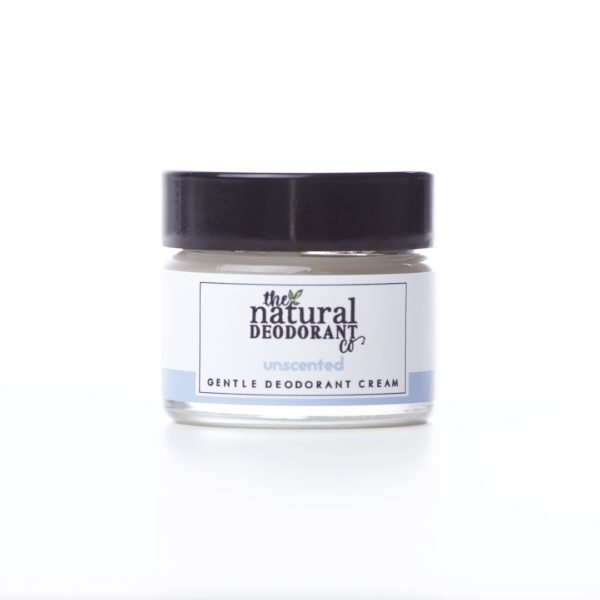 The Natural Deodorant Co Gentle Unscented 20g