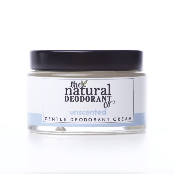 The Natural Deodorant Co Gentle Unscented 55g
