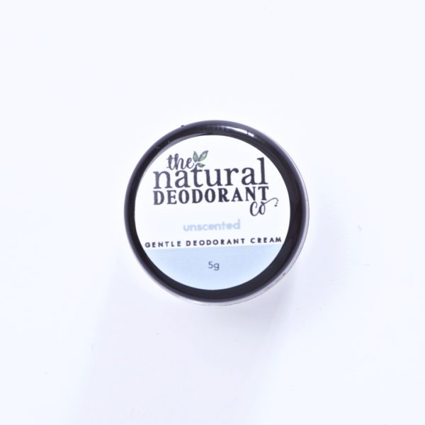 The Natural Deodorant Co Gentle Unscented 5g