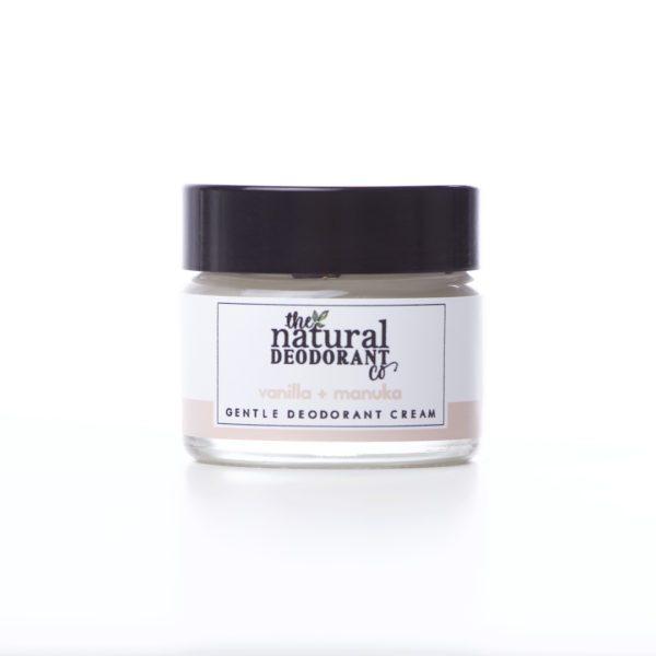 The Natural Deodorant Co Gentle Vanilla & Manuka 20g